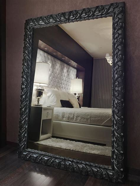 bedroom floor mirror oversized mahogany mirror hgtv