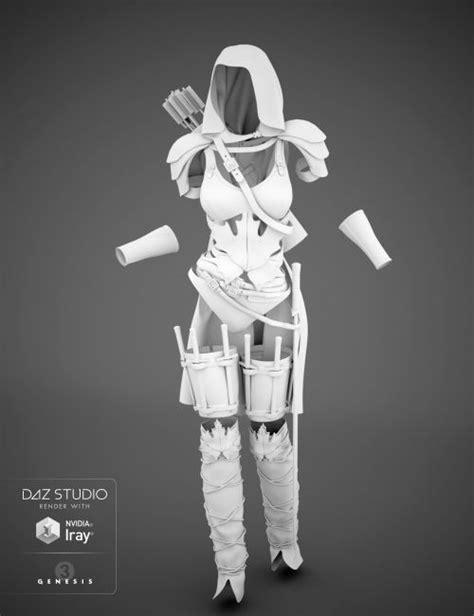 Fantasy Ranger for Genesis 3 Female(s) | 3D Models for