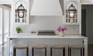 carriage lanterns kitchen island transitional