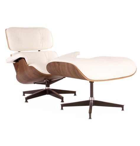 eames recliner chair classic edition lounge chair set inspired by designs of