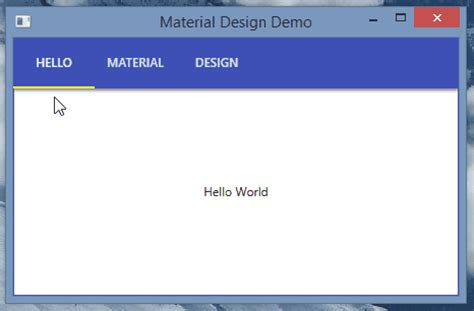 wpf tabcontrol template how to use the material design theme with dragablz tab