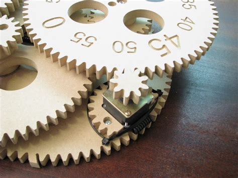 gear clock alan parekh�s electronic projects