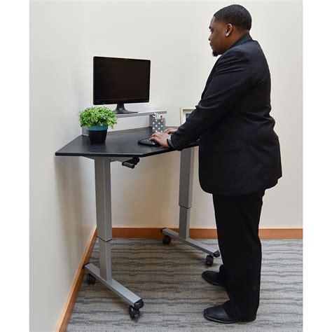 stand up corner desk stand up corner desk corner standing desk decor