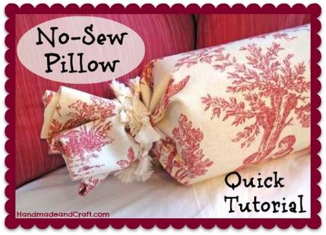 nice no sew home decor diy projects the cottage market no sew pillow tutorial diy home decor