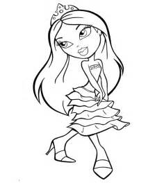 bratz coloring book free printable bratz coloring pages for