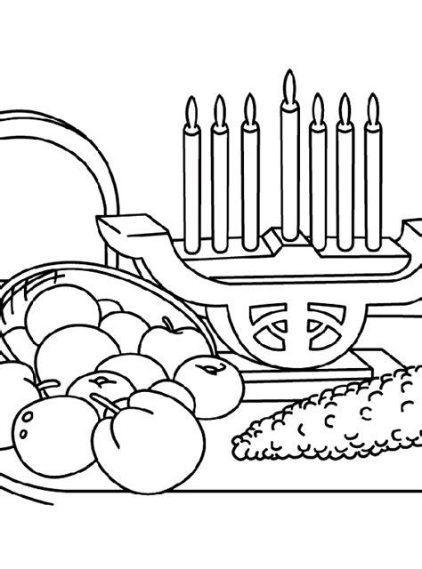 kwanzaa coloring pages preschool a kwanzaa feast coloring page crayola com