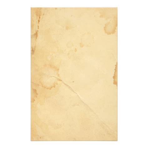 How To Make Tea Stained Paper - tea stained paper stationery zazzle