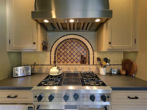 spanish tile kitchen backsplash photo page hgtv