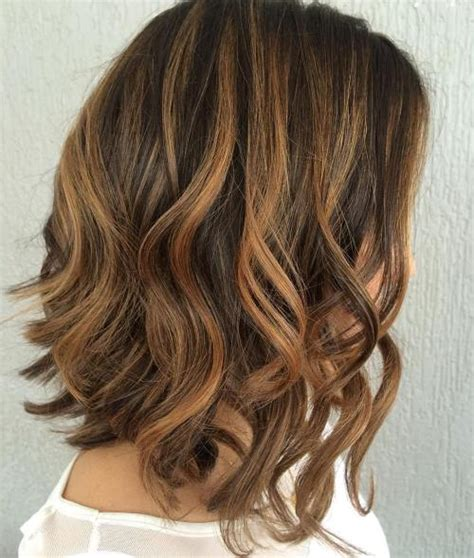 brunette hairstyles with caramel highlights 60 looks with caramel highlights on brown and dark brown hair