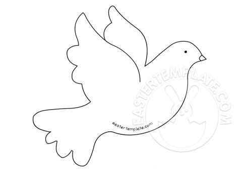 printable dove images printable peace dove template easter template