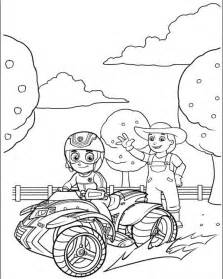 paw patrol coloring free coloring pages of paw patrol garbie