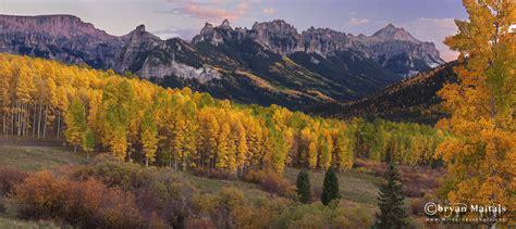 Owl Creek Pass, Fall Colors, Colorado Pano
