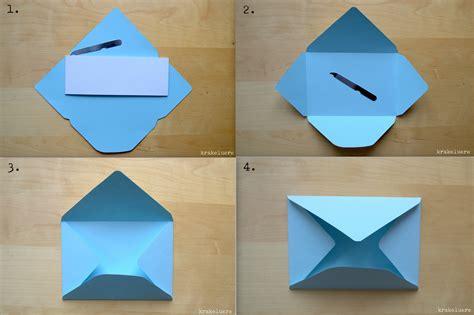 Brief Selber Falten by Krakeluere De Briefumschl 228 Ge Basteln