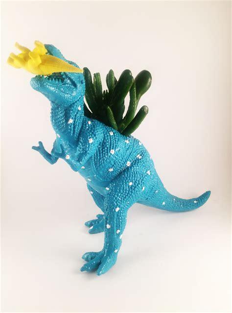 Dinosaur Succulent Planter by Dinosaur Planter Animal Planter Succulent Planter Air