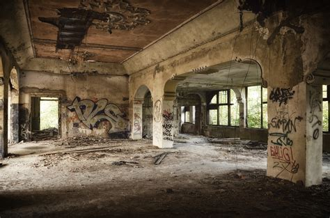 abandon buildings abandoned building full of graffiti 183 free stock photo