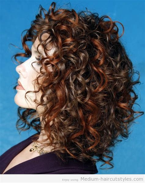 perms for shoulder length hair women over 40 12 best images about women s medium curly hair styles on