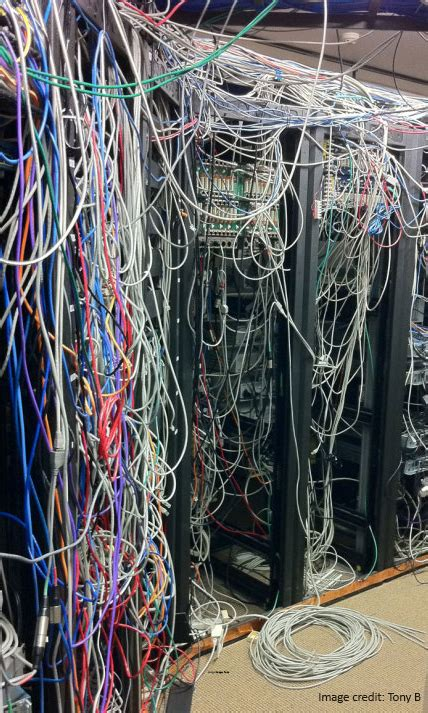looking for someone to run network wires in attic 10 stupid things do in their data centers