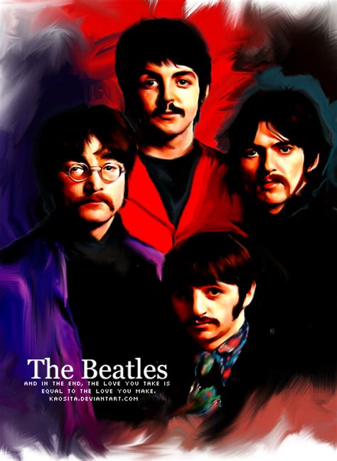 Duplicatecloth Kaos The Beatles 01 kaosita kaos 172 172 deviantart