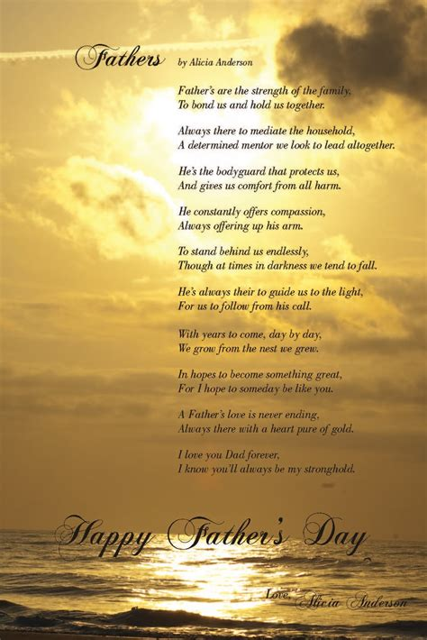 free poems fathers day poems free large images