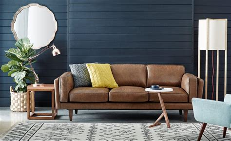 freedom furniture couch 1000 ideas about brown leather couches on pinterest