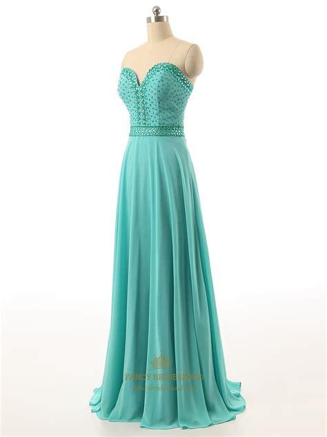 green beaded dress green strapless beaded bodice sweetheart neckline