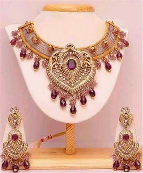 Latest Best Bridal Gold Jewellery Designs 2014 in Pakistan