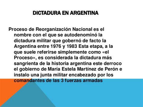 la dictadura de gnero 8415338813 dictadura argentina olaya