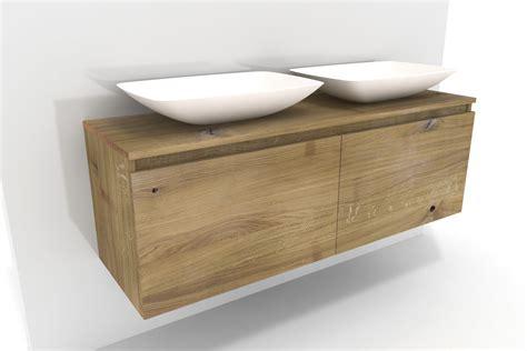 Badezimmer Waschbeckenunterschrank Holz by Waschbeckenunterschrank Holz Lysta Massivholz Eiche