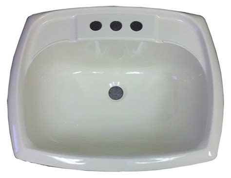 Mobile Home Sink 17 quot x 20 quot rectangle bone plastic sink for mobile home
