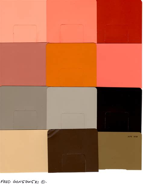 image gallery orange paint