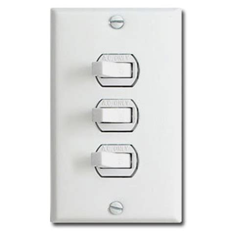 triple light switch cover despard wall plates
