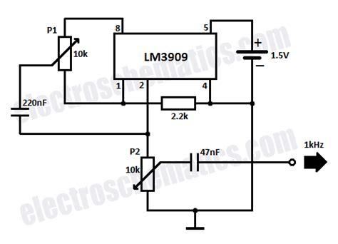 555 triangle waveform generator circuit