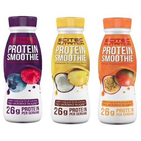 protein smoothies smoothie prot 233 in 233 bouteille scitec nutrisport perormances