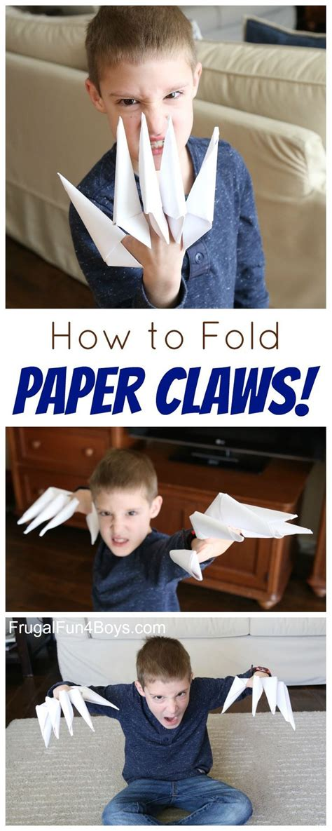 How To Fold Paper Claws - 1000 ideas about dresses for on