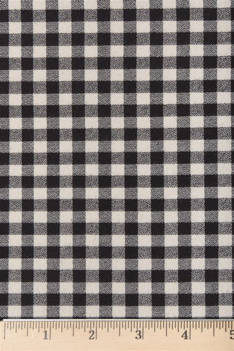 black and white gingham pattern black and white gingham flannel fabric
