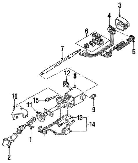 electric power steering 1991 pontiac grand am auto manual oem 1992 pontiac grand prix ignition lock parts gmpartsonline net