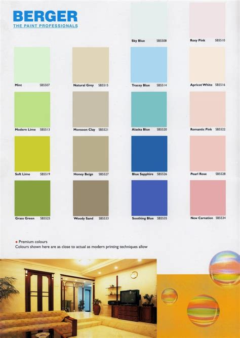 Berger Paints Interior Color Scheme Photos by Berger Paints Interior Colour Chart Berger Paints