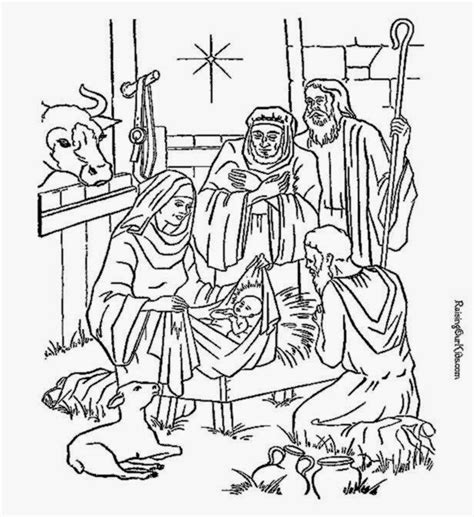 coloring pages christmas nativity az coloring pages nativity coloring sheet free coloring sheet