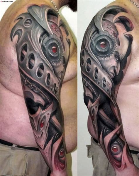 cyborg arm tattoo 55 true 3d arm tattoos designs real 3d sleeve