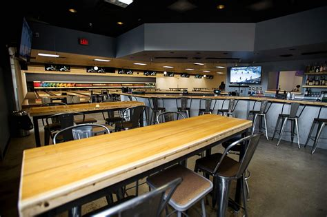 bowling lane bar top time to strike bowlounge opens friday in el jebel