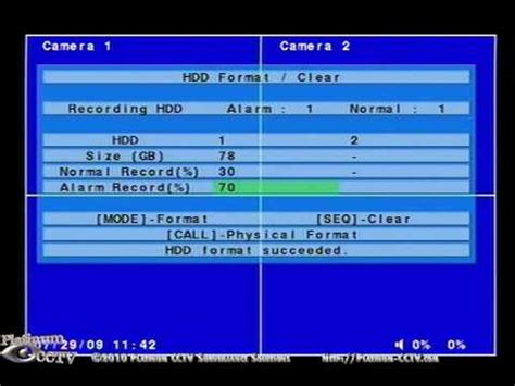 format hard disk dvr how to format your hard drive on your dvr 264xs h 264