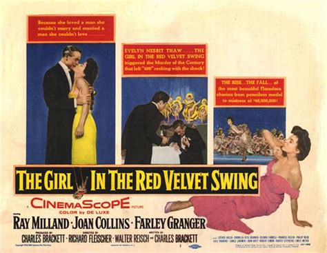 the girl in a swing film the girl in the red velvet swing movie poster 2 of 2