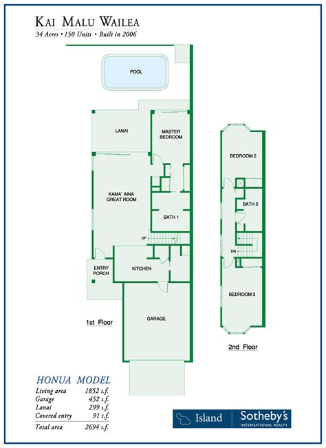 honua floor plans malu wailea for sale 14 condos homes average 1