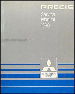 service manual repair manual 1994 mitsubishi precis service manual auto repair manual online 1990 mitsubishi precis repair shop manual original