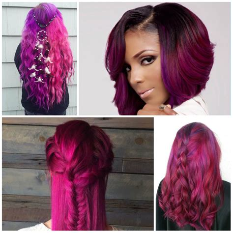 hair dye colors for hair 23 ideas for trendy magenta hair color hairstyles for