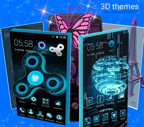 cm launcher  hd theme  wallpaper android apps