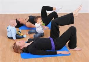 Hit The Floor Exercise - postnatal pilates mum and baby buggy intensive 171 focus and move