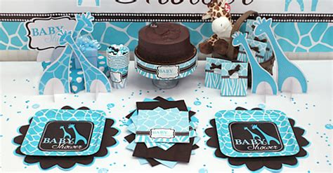 Baby shower decorations free shipping offer 50 off blue zoo baby