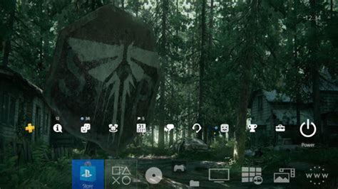 ps4 themes last of us the last of us part ii ps4 stop sign dynamic theme