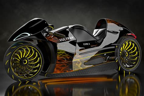 Lamborghini Superbike Inspired By Lamborghini And Porsche Vultran Type 3